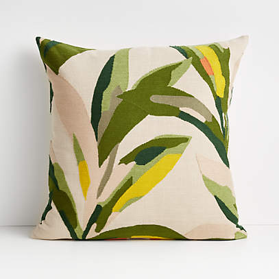 20 palma leaf pillow cover
