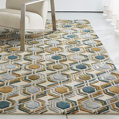 riesco mid century modern rug