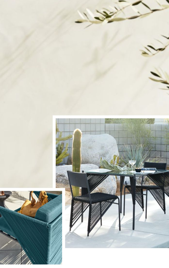 small space outdoor furniture and decor