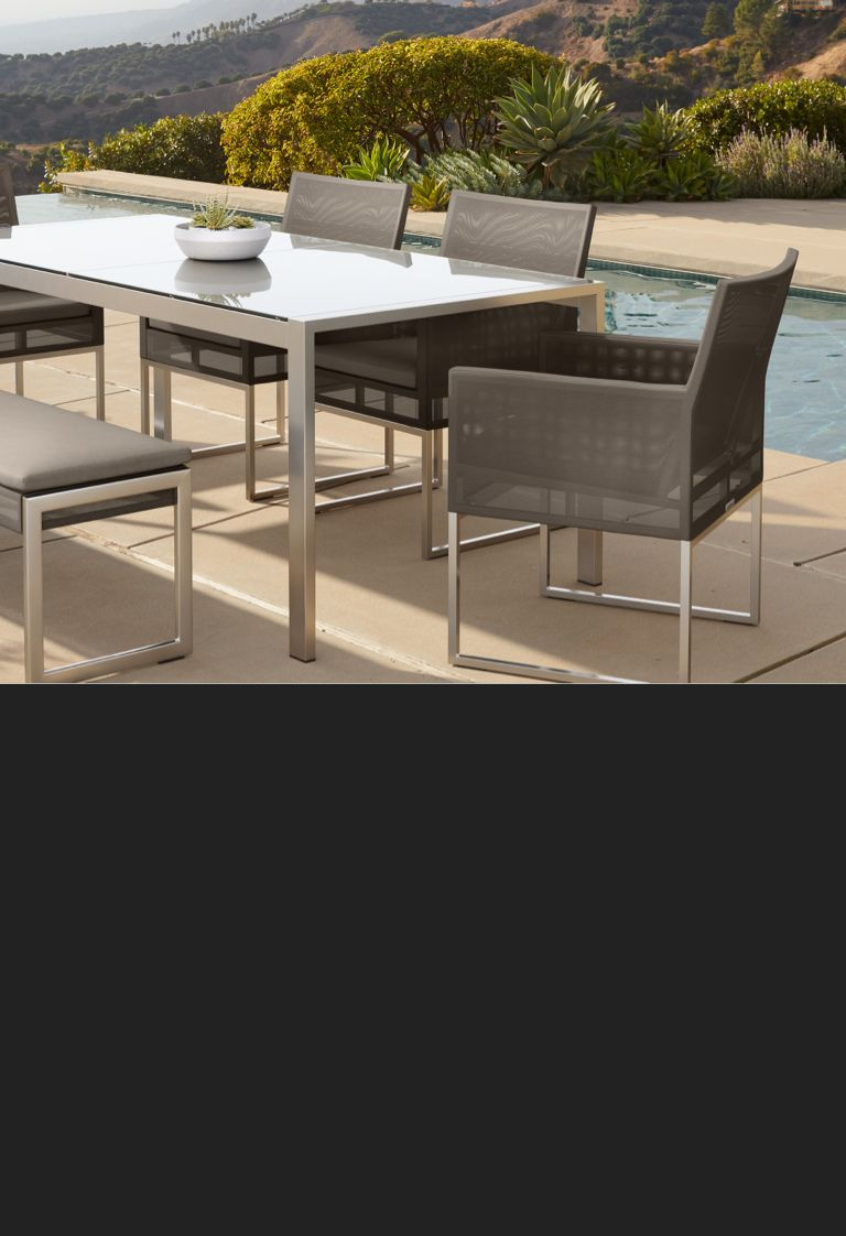 dune taupe outdoor dining furniture