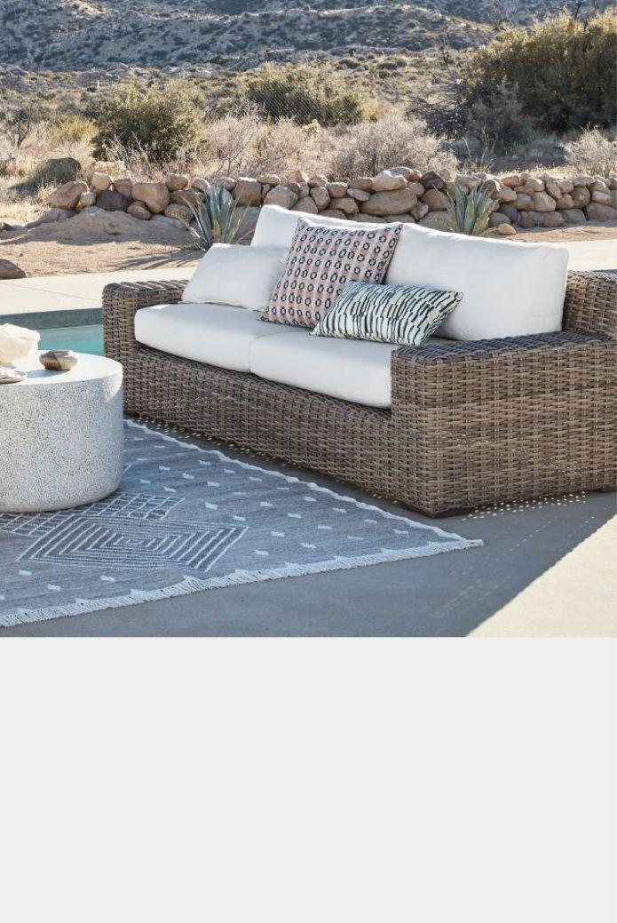 resin wicker patio furniture crate