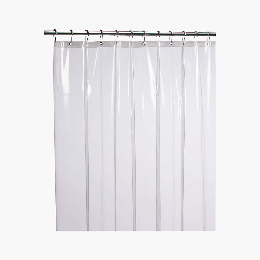 peva clear shower curtain liner 72