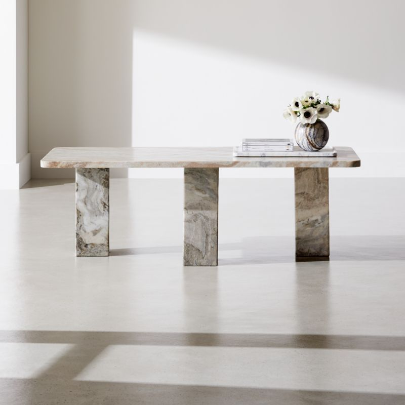 statement marble coffee table