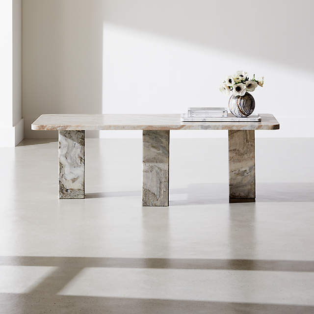 statement marble coffee table reviews