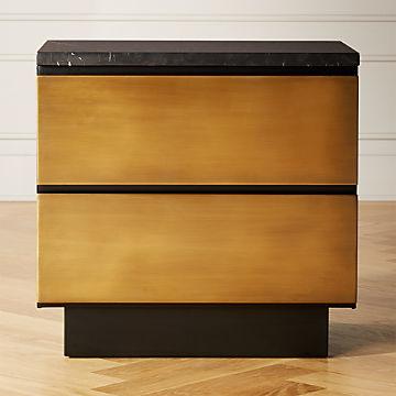modern nightstands cb2 canada