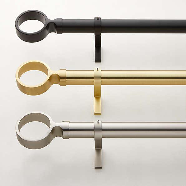 https www cb2 com accessories curtain rods hardware 1