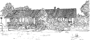 Drawing of Carnon Downs Surgery