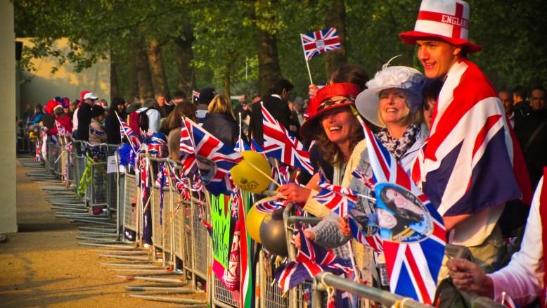 Royal Wedding Crowd