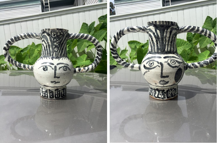 Dad's pottery
