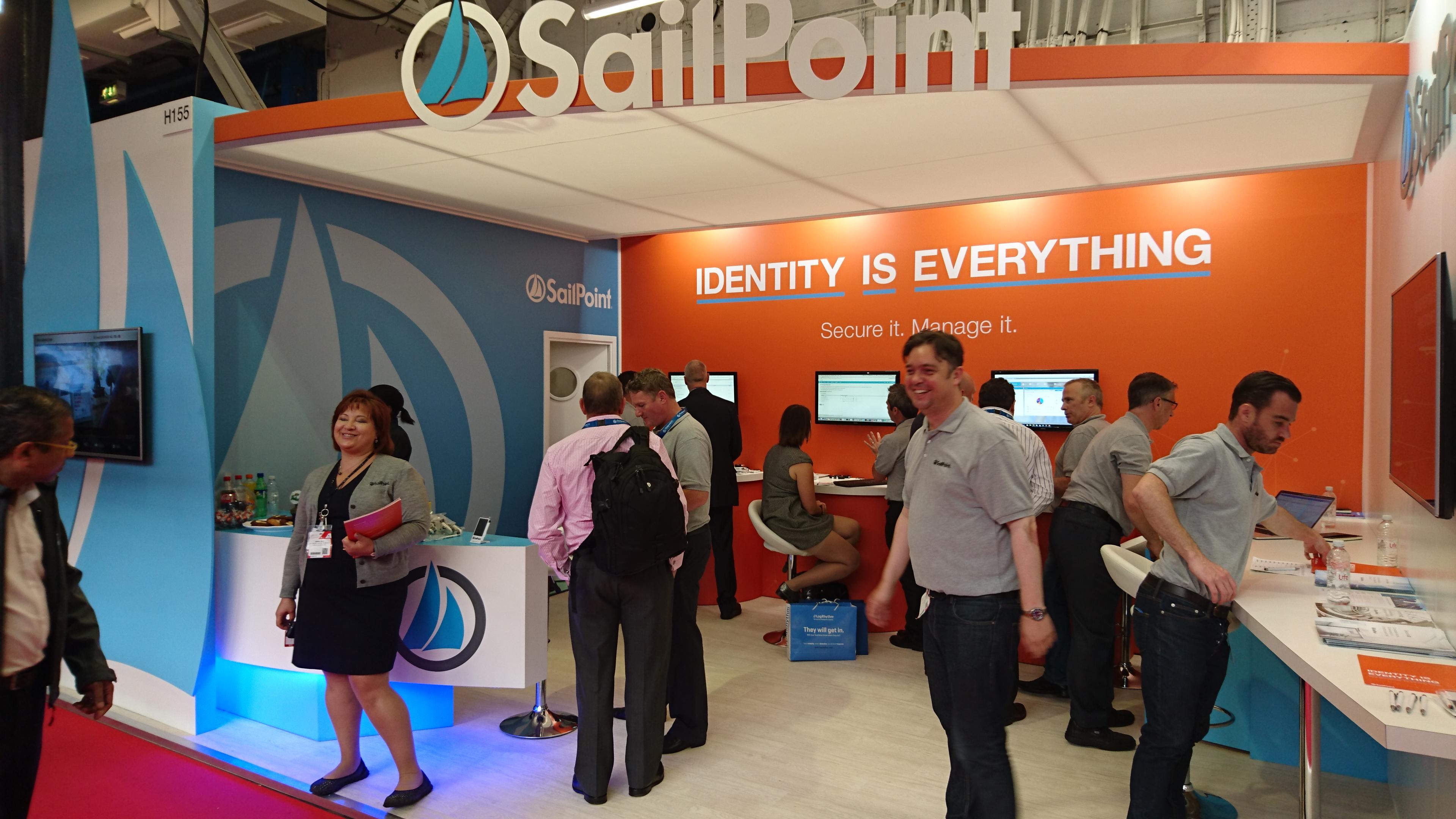 SailPoint exhibition stand London