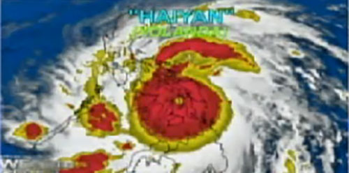 Super Typhoon Yolanda ravages many provinces; Stormy weather prevails over Philippines