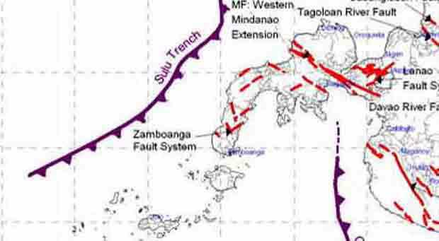 Phivolcs to study Zamboanga City fault lines - CBANGA360