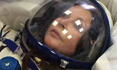 British star, next space tourist to the ISS goes on vacation