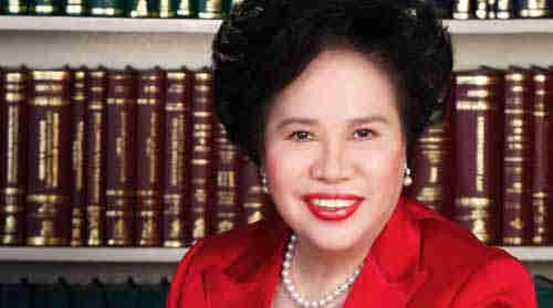 Former Senator Miriam Santiago succumbs to lung cancer, 71