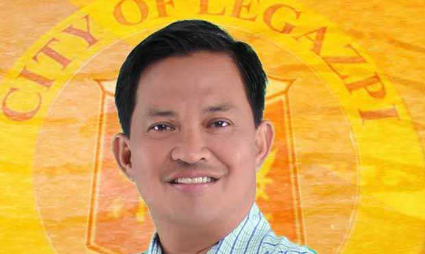 Legazpi mayor Noel F. Rosal, 2016_0806_noel-rosal