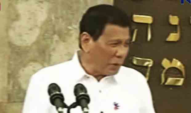 For the 'Hitler' remark President Duterte apologizes personally to the Jewish community