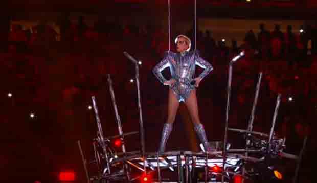 Rewatch: Lady Gaga's Exhuberant Super Bowl halftime show