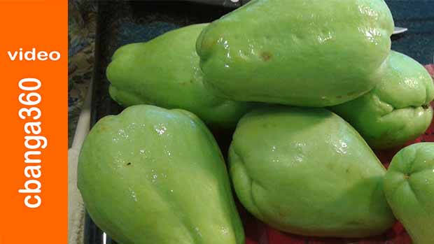 Pickled Chayote, Alternative to unripe Papaya for perfect Atchara