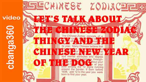 Watch:  Let's talk about the Chinese Zodiac thingy