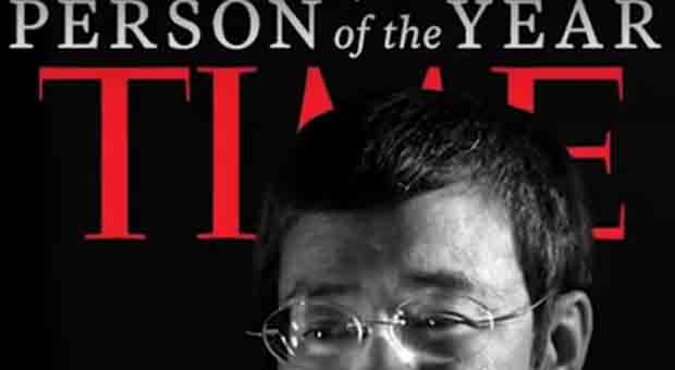 Maria Ressa, CEO of Rappler appearing on the cover of Time's People (Person) of the Year
