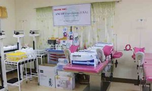 Infirmary hospital equipments destined for Calabanga rejected by Gov. Villafuerte was eventually given and received by Naga City.