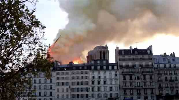 WATCH: About the Notre-Dame Cathedral fire in Paris