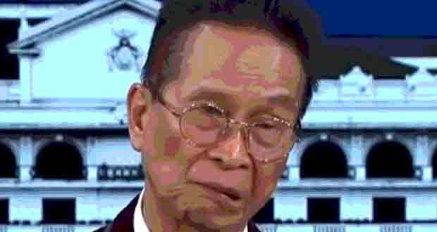 Malacanang spokesperson Salvador Panelo