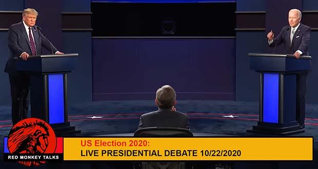 The 2nd US presidential debate