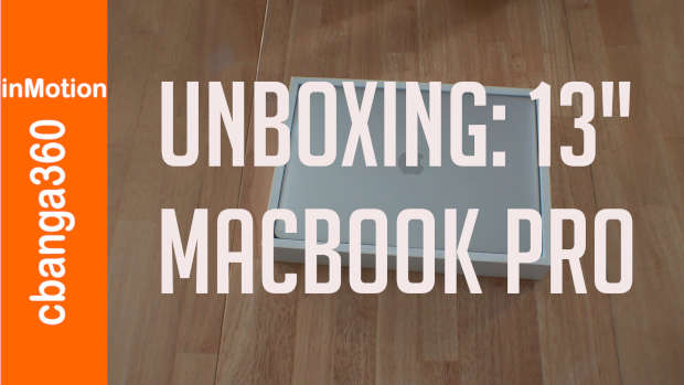 Apple M1 Macbook Pro 13-Inch, The Unboxing