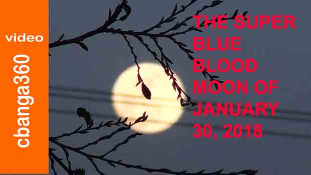 The Super Blue Blood Moon of January 30th 2018