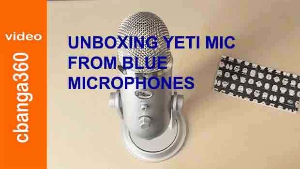 Unboxing YETI USB Mic from Blue Microphones
