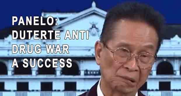 Pres. DUTERTE's war on DRUGS was a SUCCESS