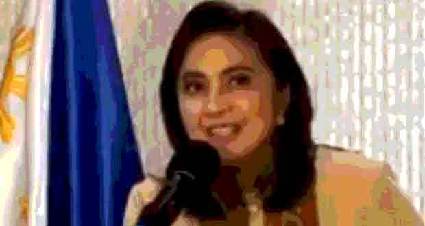 VP LENI ROBREDO ACCEPTS CO-CHAIR POST IN ANTI DRUG BODY