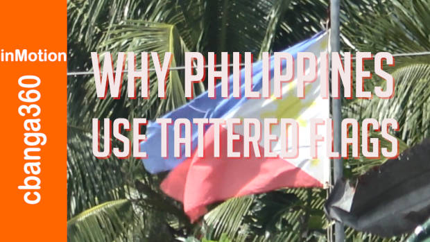 The 101 on Philippine Tattered Flag