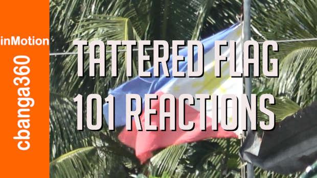 Full 101 Reactions on Tattered Flag