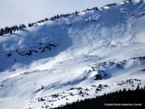 Natural slab avalanche on Red Lady, NE aspect ATL