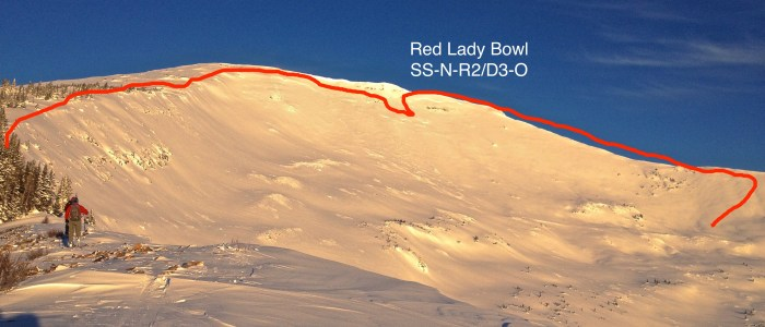 Red Lady Bowl D3