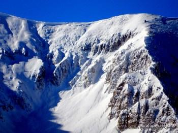 Mt. Axtell. NE aspect ATL