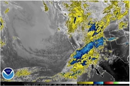 February 24th – March 2nd: Powerful Storm Causes Widespread Natural Slab Avalanche Cycle