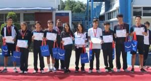 Participación en los Juegos Deportivos Escolares Nacionales 2019