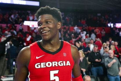 NBA Mock Draft: Anthony Edwards