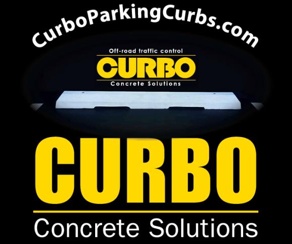 CURBO: Concrete Solutions, www.CurboParkingCurbs.com