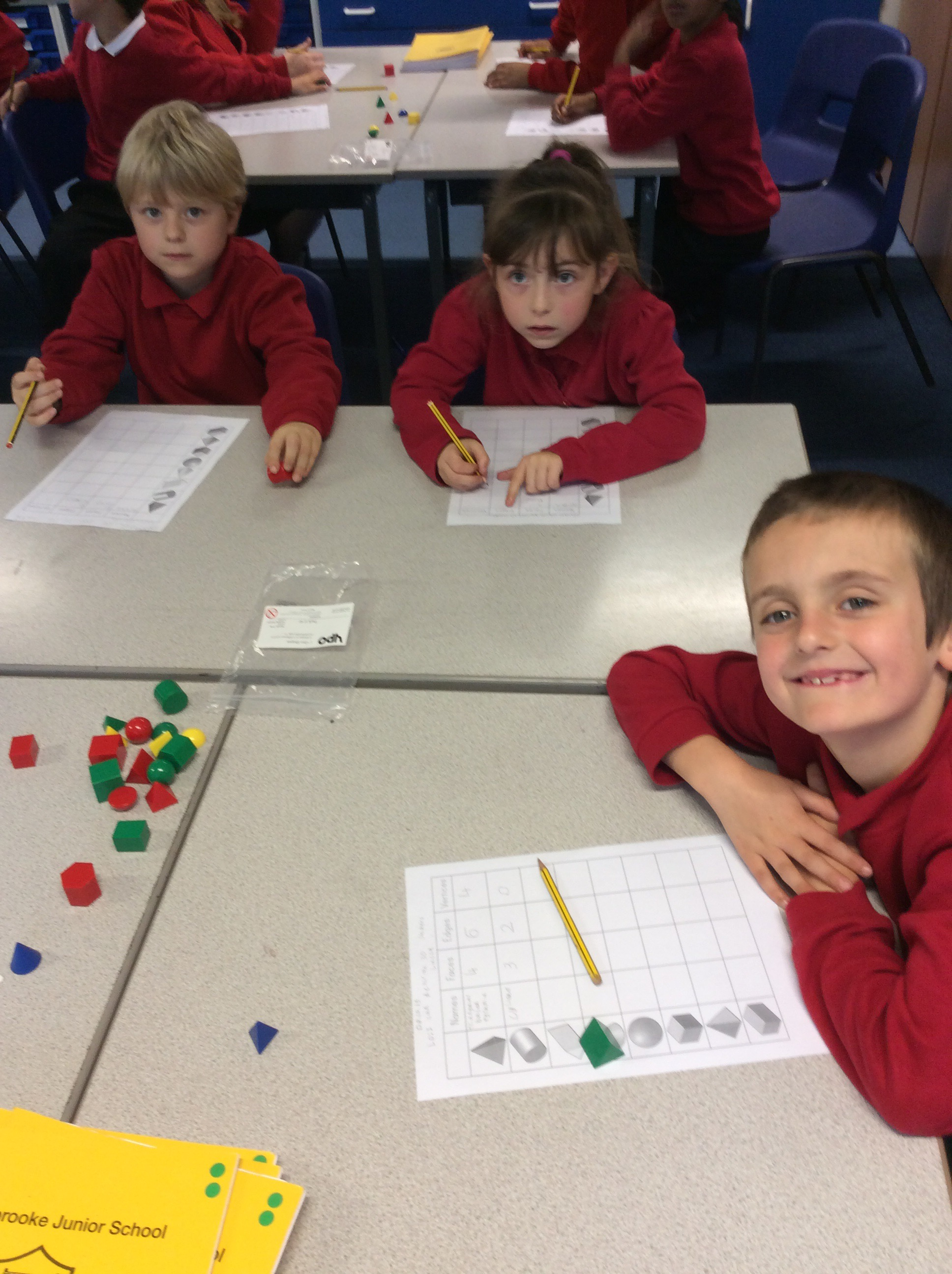 3d Shapes How Many Faces Edges Vertices