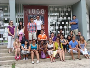 Coastal Bend College students in Puerto Rico