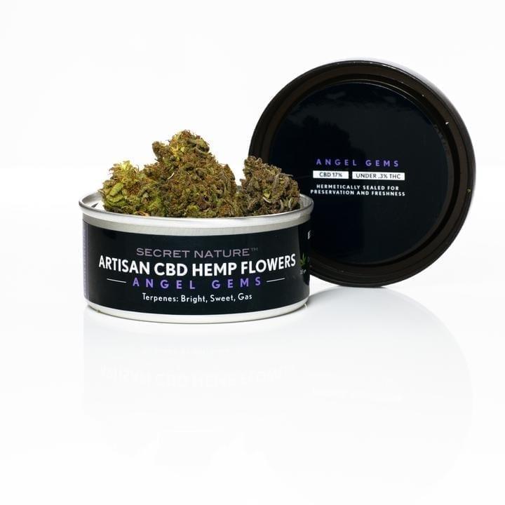 CBD Buds - Hemp Flower - Angel Gems Strain - CBD Online Store