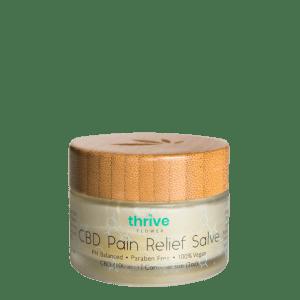 pain relief salve, cbd pain relieve salve, cbd pain cream, cbd cream, cbd salve, thrive flower. 1000mg, 1000 mg, cbd cream 1000mg