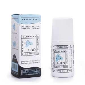 cbd cream, CBD Lotion, cbd salve, pachamama, pachamama cbd, 500mg, 500 mg, cbd icy muscle gel, icy muscle gel, cbd muscle gel, cbd topical balm