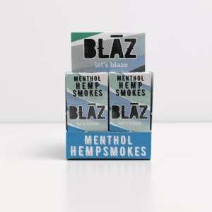 hemp cigarettes, cbd flower cigarettes, hemp flower cigarettes, hemp smokes, premium hemp smokes, cbd smokes, menthol, blaz, carton