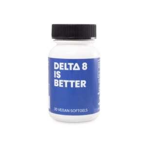 delta 8 capsules, delta 8 thc capsules, delta 8 softgels, delta 8 thc softgels, delta 8 gelcaps, delta 8 thc gelcaps, cbd is better, 25mg