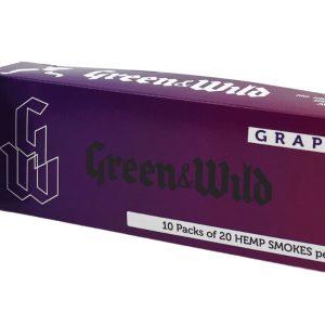 cbd flower cigarettes, cbd smokes, hemp cigarettes, hemp flower cigarettes, hemp smokes, natural, premium hemp smokes, g&w, grape, carton